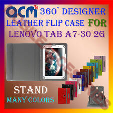 ACM-ROTATING 360° LEATHER FLIP STAND COVER CASE for LENOVO TAB A7-30 2G TABLET