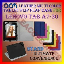 ACM-LEATHER FLIP MULTI-COLOR COVER CASE STAND for LENOVO TAB A7-30 TABLET TAB