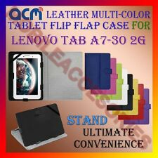 ACM-LEATHER FLIP MULTI-COLOR COVER CASE STAND for LENOVO TAB A7-30 2G TABLET TAB