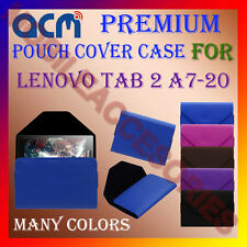 ACM-PREMIUM POUCH LEATHER CARRY CASE for LENOVO TAB 2 A7-20 TABLET TAB COVER NEW