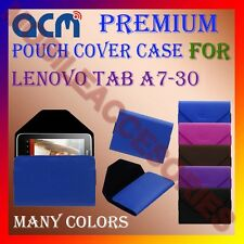 ACM-PREMIUM POUCH LEATHER CARRY CASE for LENOVO TAB A7-30 TABLET TAB COVER NEW