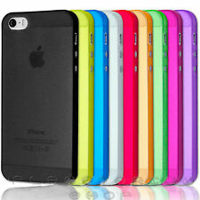 0.3MM ULTRA TPU CUSTODIA OPACA SCOCCA CASE COVER PER APPLE IPHONE 5 5S