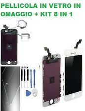 TOUCH SCREEN VETRO SCHERMO + RETINA LCD Display Assemblato PER iPhone 5S AAA++