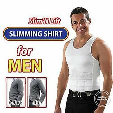 Mens Slim Vest Slim N Lift Tummy Tucker Body Innerware For Men