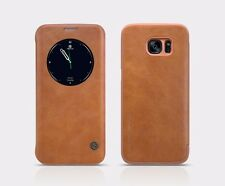 NILLKIN QIN SERIES LEATHER WINDOW FLIP COVER CASE FOR SAMSUNG GALAXY S7 EDGE
