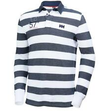 Helly Hansen Herren Langarm Polo Marstrand LS Polo Navy Stripe