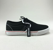 Supra Cuban Shoes Trainers Black Suede New in box in Size UK 4,5,6,7,9,10,11