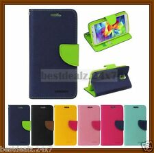 Brand New Goospery Fancy Diary Flip Wallet Case Cover for Apple iPhone 5 5S