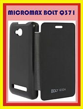 Micromax Canvas Q371 Flip Cover Case Pouch Back Panel / Screen Guard
