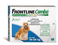 ANTIPARASSITARI Frontline Combo CANI 3 FIALE 10-20kg Spot-on Treatment 10-20kg