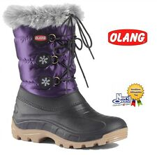 SCARPE CALZATURE Stivaletto Doposci Boot Neve OLANG art. Patty Donna - Viola