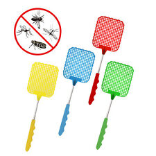 Extendable Fly Swatter Bug Mosquito Insect Zapper Handy Flies Control Racket