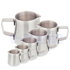 150ML 250ML 350ML 0.6L 1L 1.5L Stainless Steel Coffee Frothing Milk Latte Jug DT