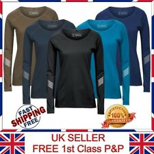 """Active Intent"""" Ladies Womens Sports Top quick-dry Running Long Sleeves T Shirts"""