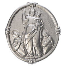 Confraternity Medal in brass, Our Lady of Pompei