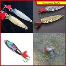 Cucharilla ondulante jig pesca jigging tipo toby evy kaly see-bass mitralite