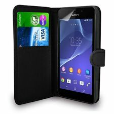 SONY XPERIA Z5 COMPACT Genuine Leather Wallet Flip Case Cover for Z5 COMPACT