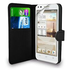 HUAWEI ASCEND G7 Genuine Leather Wallet Flip Case Cover for Huawei Ascend G7