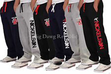 Nickelson Mens Boys Hip Hop Star Fleece Jogging Jogger Bottoms Pants G Money