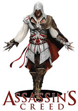 Assassins Creed, Iron On Transfer For Dark or Light Fabrics, A4, A5, A6.