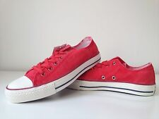 Womens Converse Chuck Taylor All Star CT OX Carnival Red Low Top Trainer