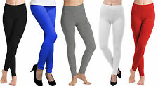 Damen Knöchellang Softstretch Leggins Jeggings UK Größe 6-20