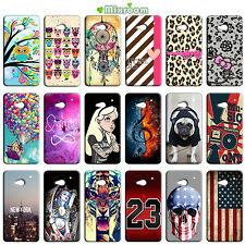 CUSTODIA COVER CASE MORBIDA IN TPU PER HTC ONE M7 FANTASIE C