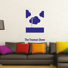 The Truman Show minimal design poster adesivo murale Wall Sticker