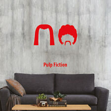 Pulp Fiction minimal design poster adesivo murale Wall Sticker