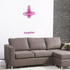 Inception minimal design poster adesivo murale Wall Sticker