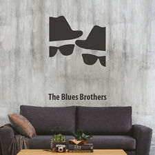 The Blues Brother minimal design poster adesivo murale Wall Sticker