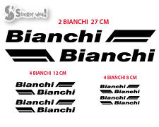Kit adesivi bici Bianchi old sticker bike decal bicycle