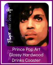 NEW PRINCE (ROGERS NELSON) TRIBUTE COMMEMORATIVE DRINKS COASTER