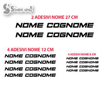 Kit adesivi Nome sticker bike decal bicycle