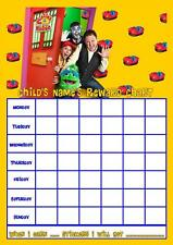 JUSTINS HOUSE PERSONALISED REWARD CHART WITH FREE STICKERS AND PEN