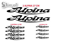Kit adesivi bici Alpina sticker bike decal bicycle