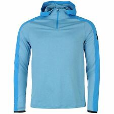 Under Armour ColdGear ¼ Zip Pullover Hoody Mens Blue Sweater Sweatshirt Jumper