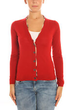 BURBERRY Strickjacken CARDIGAN PULLOVER -20% Damen Rot 3958910- NEU