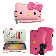 [ES] Hello Kitty iPhone 6/6s Carcasa Funda Billetera Cover 3Colors Made Korea