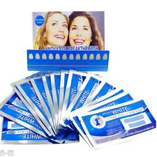 1 HOUR Express teeth whitening strips (7 sachets/14 strips) STRONG and NON-SLIP