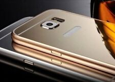 Luxury Aluminum Ultra-thin Mirror Metal Case for Samsung S6 Edge/S6 iPhone 6,6+