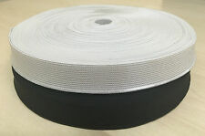 25 METER ELASTIC FULL ROLL~19 mm (3/4 inch) WIDTH~PREMIUM QUALITY~SAME DAY POST~