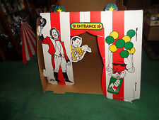 Vintage 1988 7-Up Co. Large Big Top Pee-Wee Corrugated Play Tent #300171 MINT