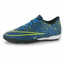 Nike Mercurial Vortex Astro Turf Football Trainers Mens Blue/Black Soccer Shoes