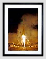 SPACEGRAPHY ROCKET LAUNCH SOVIET SOYUZ TAKE OFF BLAST USSR ART PRINT B12X12332