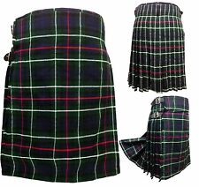 Men's Kilt MACKENZIE 5 Yard Tartan: Scottish Highland Dress Kilt Size 28 - 46