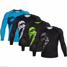 VENUM GIANT MMA LONG SLEEVE RASHGUARD MMA Bjj Training Sparring