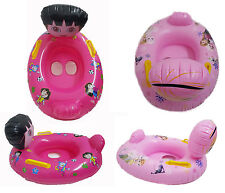 Kids Toddler Inflatable Swimming Pool Swim Safety Aid Seat Float Boat Water Toy