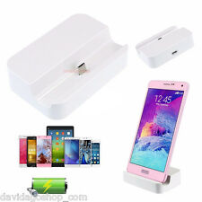 DOCKING STATION PER SAMSUNG GALAXY DOCK MICRO USB SUPPORTO CARICABATTERIE CHARGE