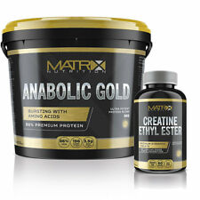 ANABOLIC GOLD MUSCLE BUILDING STACK FROM MATRIX NUTRITION | HIGH PROTEIN CONTENT